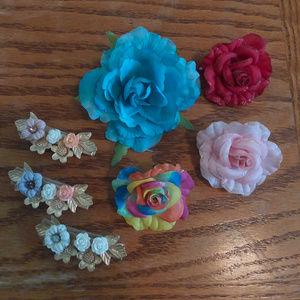 Flower Clip Set